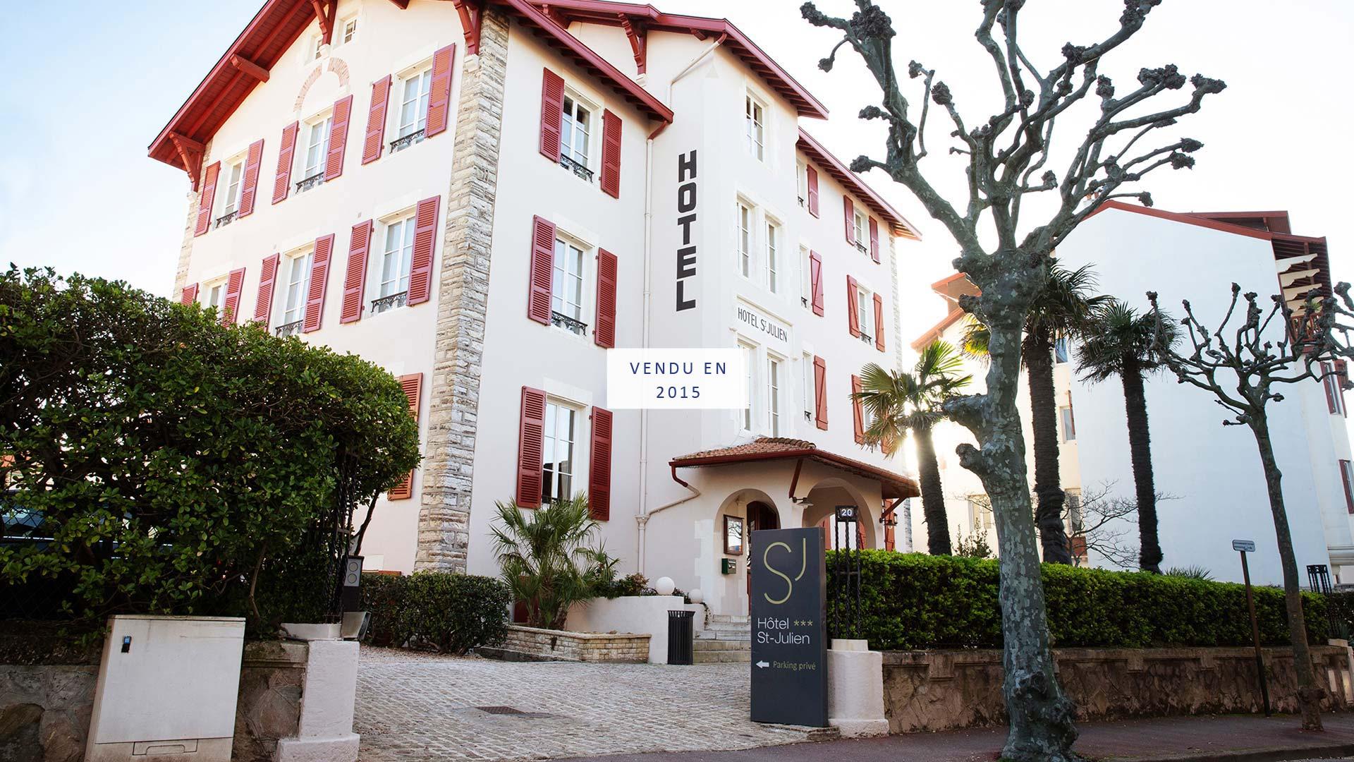 CHR Immobilier - Hotel Saint Julien